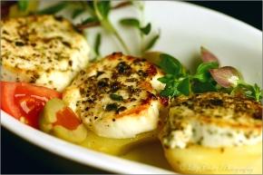 Kartoffel-Ziegenkäse-Gratin © Liz Collet