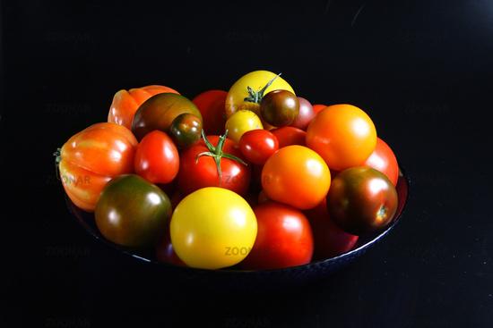 Bunte Tomatenvielfalt    © Liz Collet