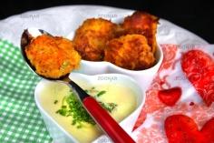 Lauchsuppe mit Karotten-Kartoffel-Rösti © Liz Collet