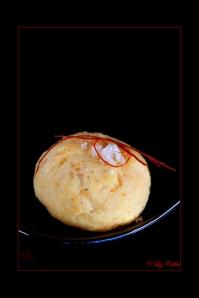 Käsegebäck mit Murry River Salt Flakes und Chilifäden © Liz Collet