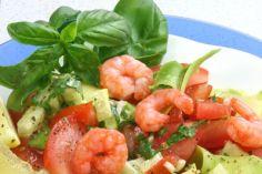 Krabbensalat mit Avocado