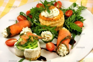 Salmon and Cheese © Liz Collet