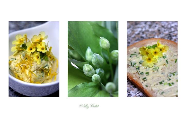 Blüten-Kräuter-Butter © Liz Collet