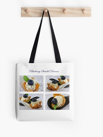 Blueberry Strudel Dreams Bag © Liz Collet