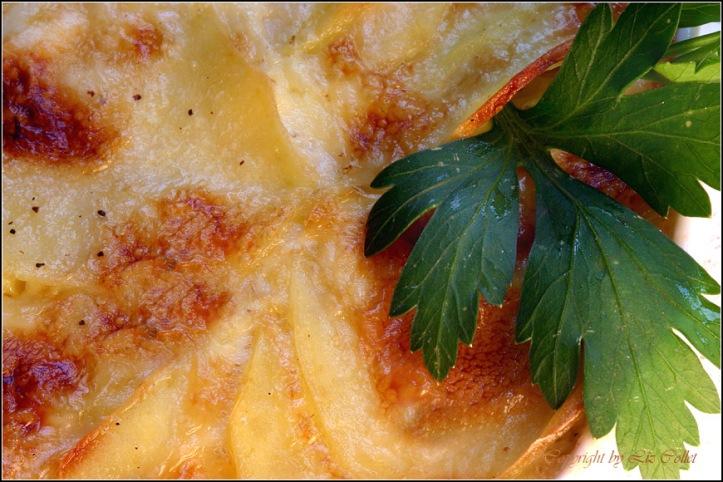 Gratin de Pommes de Terre © Liz Collet
