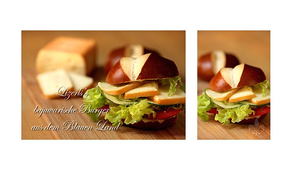 Lizerls bajuwarischer Lim-Burger  © Liz Collet