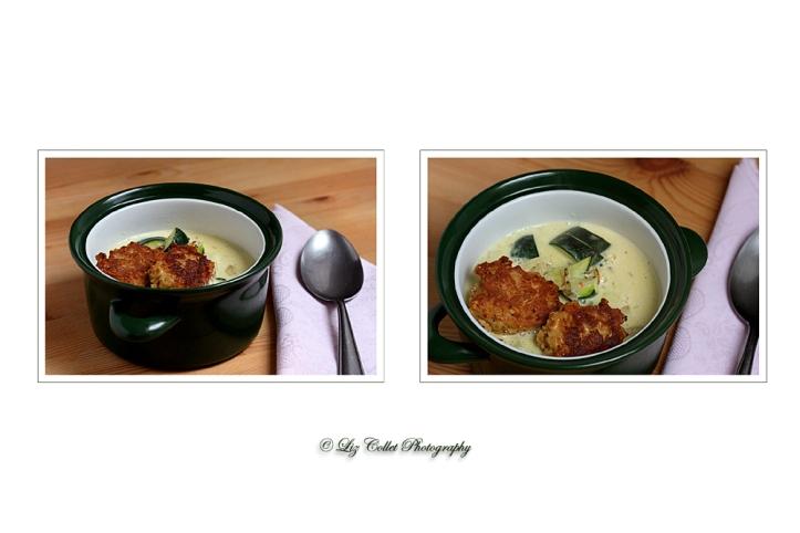Zucchini-Gmias mit Bäcker-Pflanzl © Liz Collet