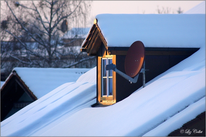 Sonne UND Schnee im Blauen Land © Liz Collet