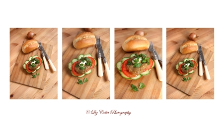 Brotzeit, Snack, Abendbrot, Pausenbrot, Sandwich, Semmeln, Brötchen, Baguettesemmeln, Weissbrotsemmeln, Baguettebrötchen, Relsih, Zwiebeln, Zwiebelrelish, Gurke, Salatgurke, Tomate, Kren, Meerrettich, © Liz Collet, vegetarisch, fleischfrei, Gericht, Liz Collet Foodphotography, Gastrofotografie, Gastronomiefotografie, Fotografie für Gastronomie, Bistro, Bistrofotografie, französisch, Gemüse, Salat, Liz Collet Foodfotografie, Liz Collet Foodphotography, Liz Collet Rezeptfotografie,