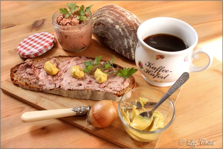 Hausgemachte grobe Leberwurst © Liz Collet