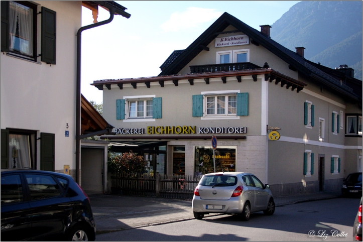 Bäckerei Eichhorn in Garmisch © Liz Collet