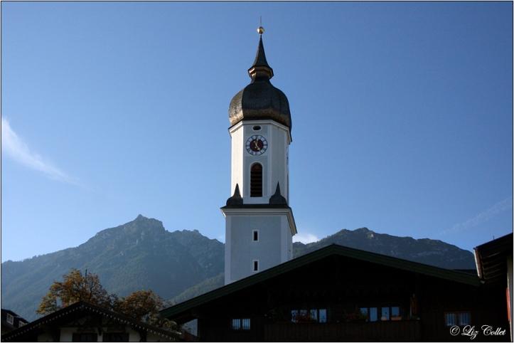 Pfarrkirche St. Martin in Garmisch © Liz Collet
