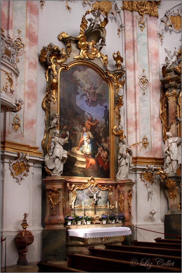 Karsamstag in der Ettaler Basilika © Liz Collet