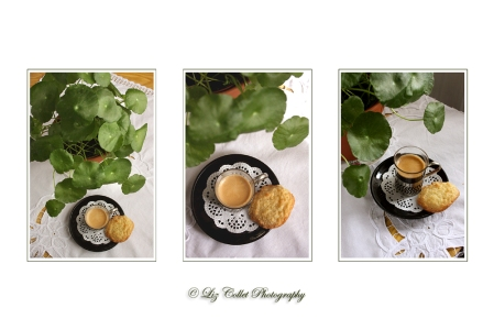 Espresso und Cocoscookie © Liz Collet