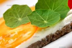 Tomaten, Kapuzinerkresse, Frischkäse ....perfekt © Liz Collet
